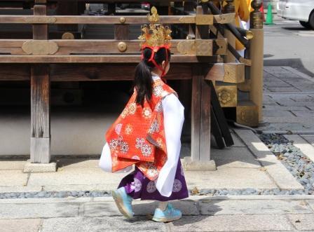 護王神社の御稚児さん_H26.04.06撮影