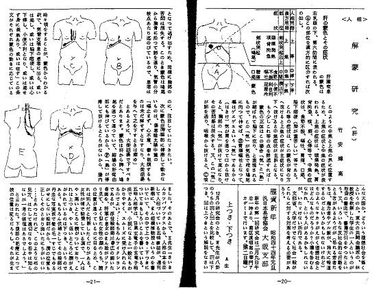 蒙色望診副読本