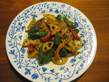 IMG_8547野菜の金平風