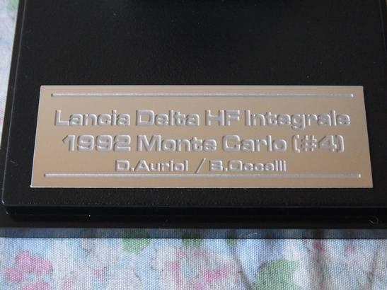 HPI 1/43 ランチアデルタ 1992 モンテ ライトポッド仕様