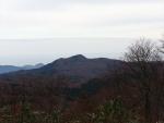 高山山頂から見た依遅ヶ尾