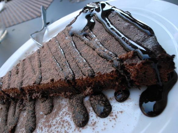 torta di ciocolato