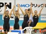 20140907swimming女子リレーメンバー