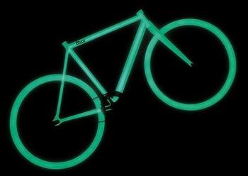 光る自転車1