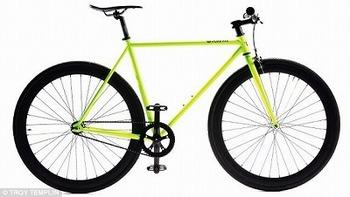 光る自転車2