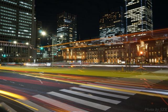 東京駅_長時間露光
