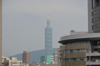 光華商場から台北101ビル140413