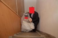花嫁をエスコート140426