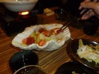 蘆洲居酒屋の海鮮サラダ140201