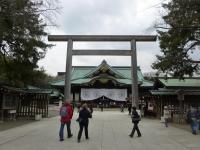 靖国神社本殿140319