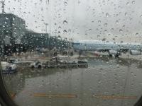 雨の羽田空港140320