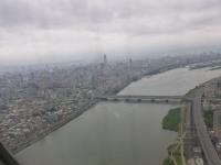 淡水川と新光三越ビル140320