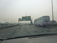 PM2.5?で霞む台北140425