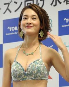 宮沢セイラ東レ水着キャンペーンガール画像
