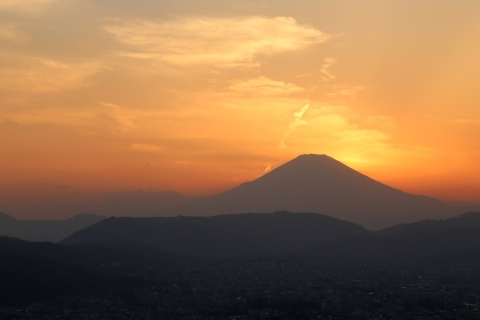 神奈川県秦野市権現山展望台より撮影