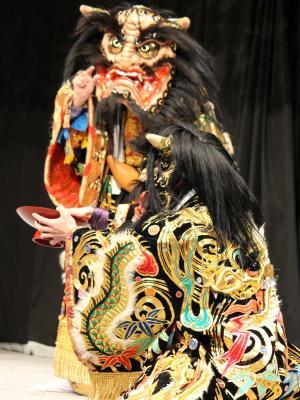 吉田神楽団 大江山5