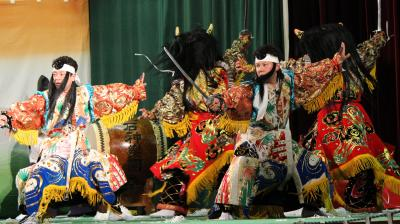 上石神楽団 大江山6