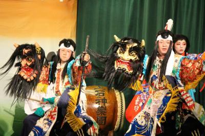 上石神楽団 大江山7
