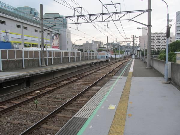 天王町駅ホーム星川方。