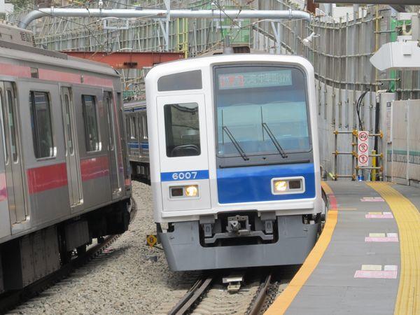 渋谷の地下から飛び出した西武6000系「特急元町・中華街行き」