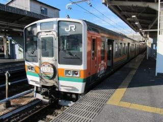 2013年3月ダイヤ改正を以って上野口から引退した211系。