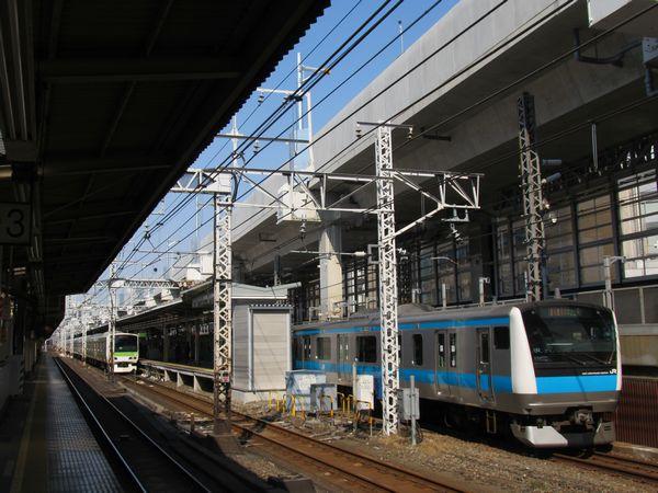 神田駅付近の東北縦貫線高架橋