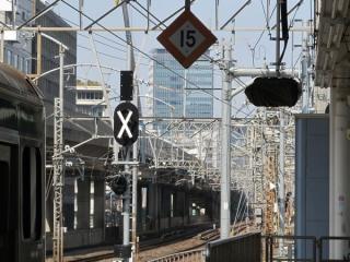 7番線側は新たに非常停止ボタンの警告灯やATOS出発時機表示器が付いた。