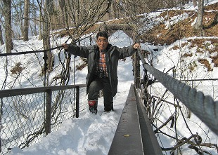 20140224多留姫の滝 大雪 (28)