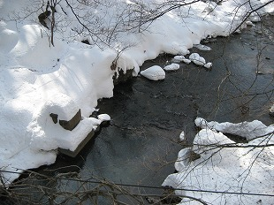 20140224多留姫の滝 大雪 (30)