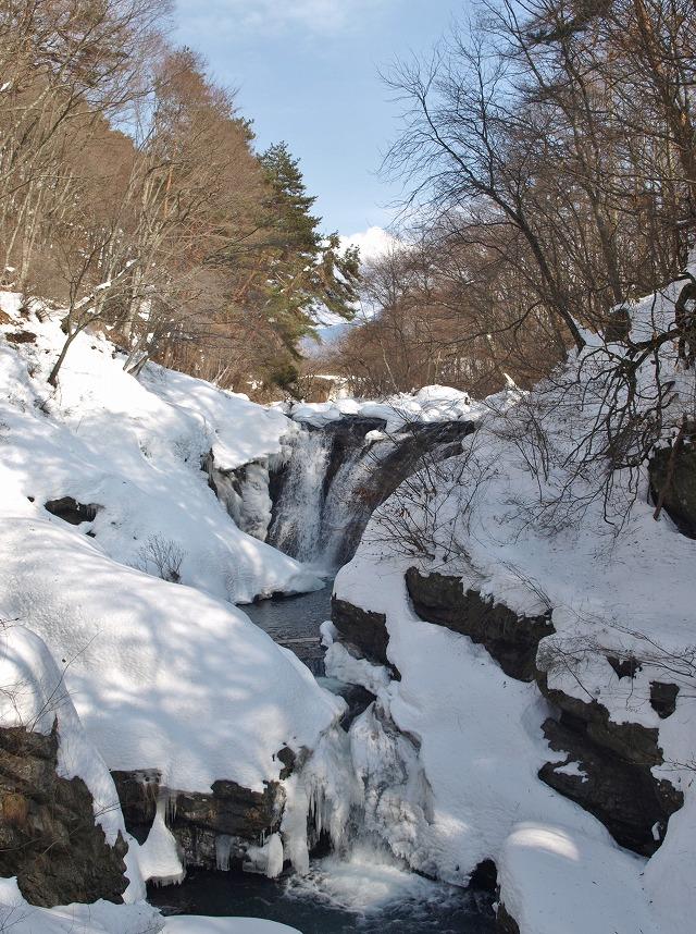 20140224多留姫の滝 大雪 (35)
