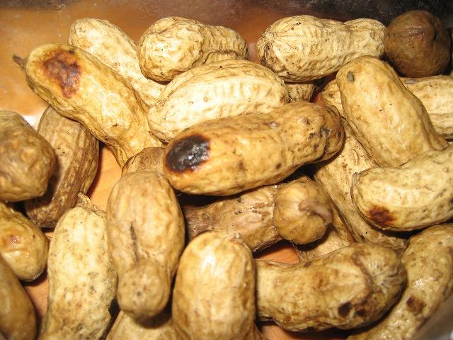 20140222茹でピーナッツ (6)