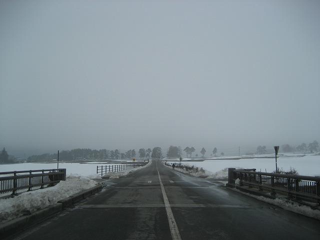 20140228霧のエコーラインと白樺湖 (1)