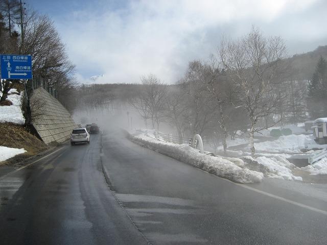 20140228霧のエコーラインと白樺湖 (4)