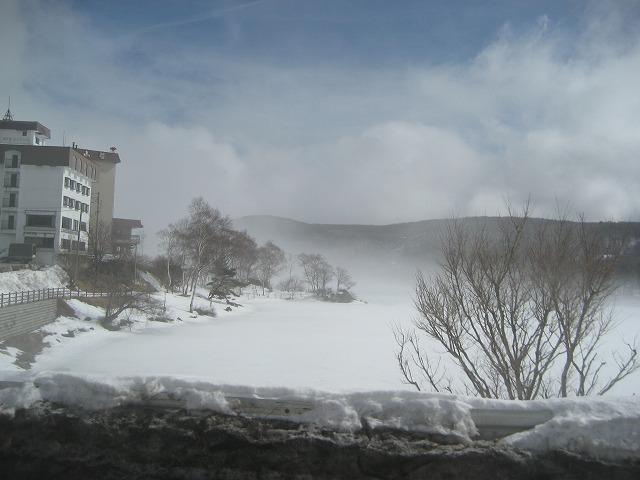 20140228霧のエコーラインと白樺湖 (14)