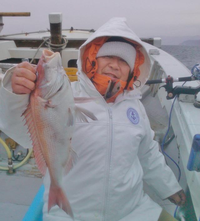 20140305新潟名立港 鯛釣り (4)