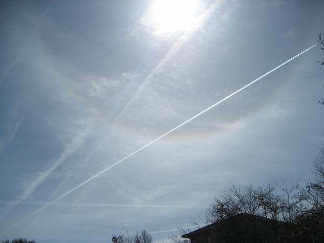 20140401飛行機雲日和 (1)