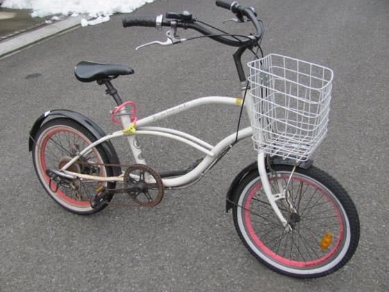 〇〇キの愛用していた自転車