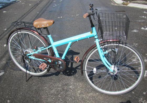 〇〇キの新車(自転車)