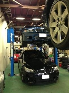 BMWが4台