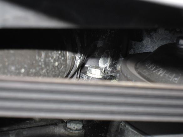 E46 BMW 水漏れ