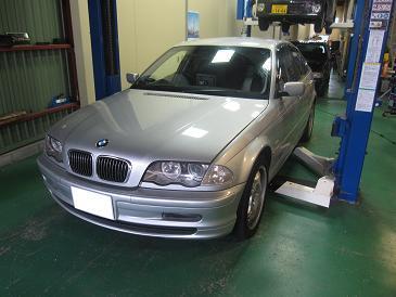 BMW パッド&ローター&プラグ交換