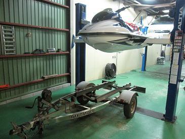 シーズン到来 ジェットスキー GP1200R♪