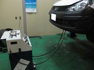 ADバン VY12 車検整備 またもトルコン太郎登場