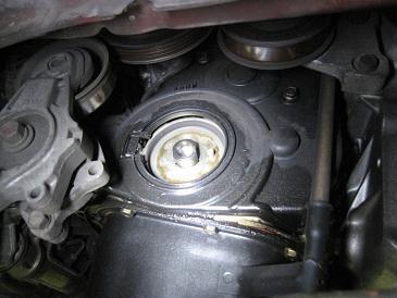 トッポ H42A オイル漏れ修理&タイミングベルト 1台目