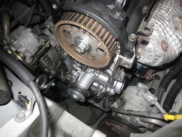 ミラ L250V オイル漏れ修理&タイミングベルト 2台目