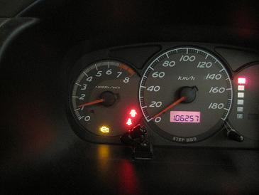ステップワゴン RF3 チェックランプ点灯