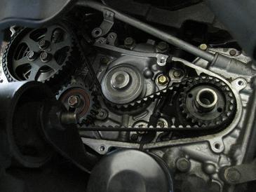 サンバー TT1 タイミングベルト交換ログ