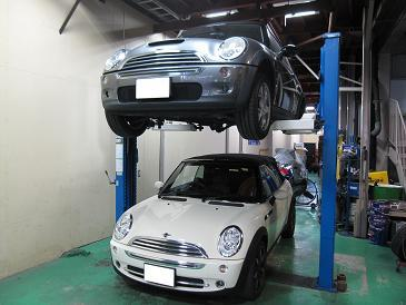 BMW ミニ シート故障!? 親亀p(^ ^)q