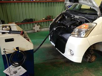 MRワゴン 車検整備とトルコン太郎