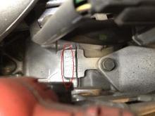 エンジンの刻印